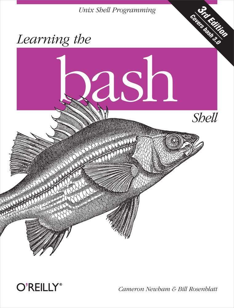Learning the Bash Shell 封面