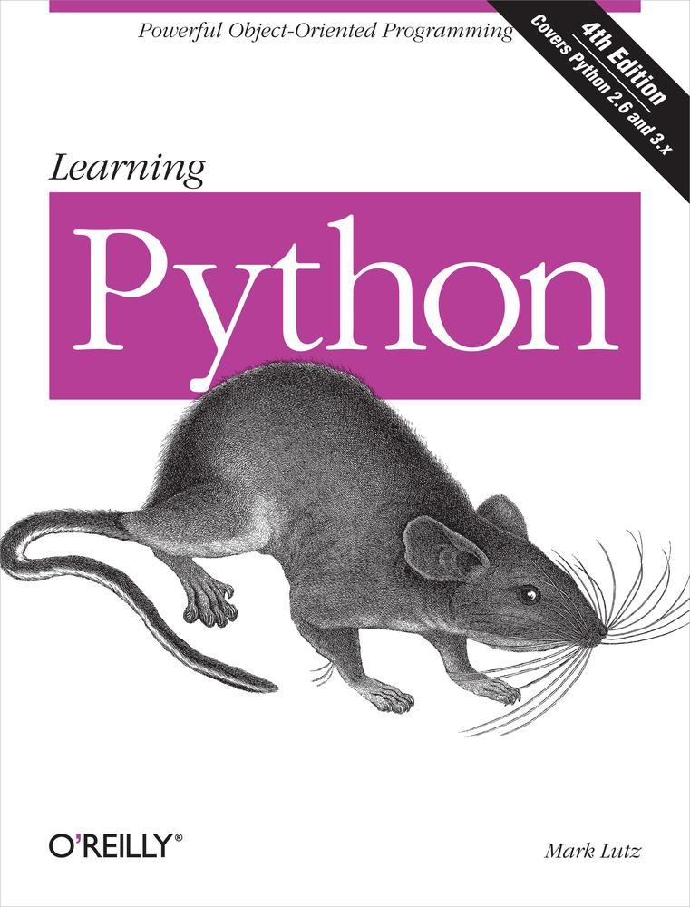 Learning Python 封面